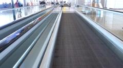 Aeropuerto de madrid Stock Footage