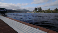 Stock Video Footage of Wideangle slider Shot Killaloe Ireland