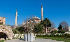 Hagia Sophia - stock photo