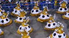 Rio de Janeiro, Carnival Stock Footage