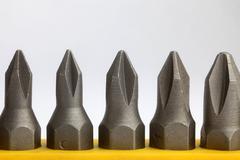 Precision screwdriver set - stock photo