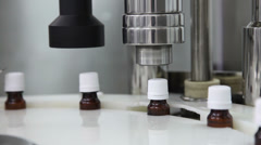 Pharmaceutical production line Stock Footage