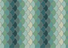 fish scale vector background - stock illustration
