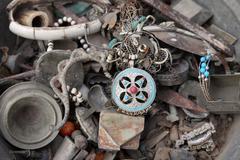 Tunisian antique shop - stock photo