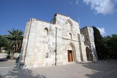 St Ann's Church, Jerusalem Stock Photos