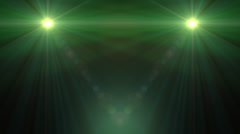 Lens Flare Transition Flash Wipe green alpha 3 Stock Footage