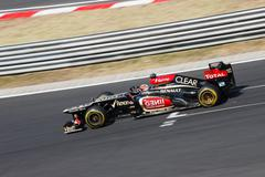 Lotus Renault, Kimi Räikkönen - stock photo