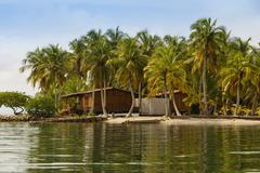 A tiny island in the caribbean archipelago san bernardo near tolu, colombia Stock Photos