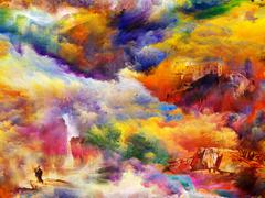 Stock Illustration of Colors of the Dream