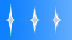 PBFX Whoosh fast bright x3 522 Sound Effect