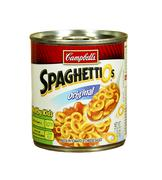 can of campbell's spaghettios - stock photo