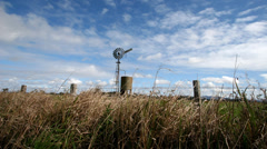 Wind Mill timelapse 1080p Stock Footage