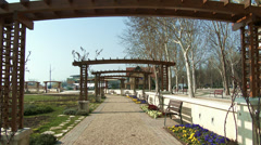 Balatonfured Hungary Pier 1 Stock Footage