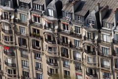 Apartments in a Paris Stock Photos