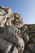 Limestone formation - stock photo