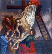 Deposition from the Cross - stock photo
