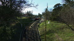 Cogwheel Railway Budapest Hungary 1 Stock Footage