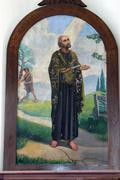 Saint Bartholomew the Apostle - stock photo