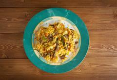 arroz chino colombiana - stock photo