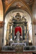 Altar in the church of St. Euphemia in Rovinj, Croatia - stock photo