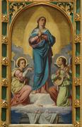 Assumption of Mary - stock photo