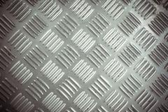 Metal list with rhombus shapes Stock Photos
