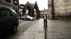 City castle Stock Footage