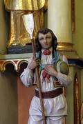 Saint Wendelin - stock photo