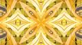 Gold kaleidoscope background, loop HD Footage