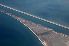 Tunisian coast - stock photo