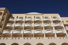 Tunisian modern architecture - stock photo