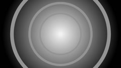 Collapsing concentric circles V011p Stock Footage