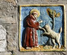 Saint Francis of Assisi - stock photo