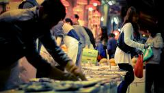 Hong Kong Market II Stock Footage