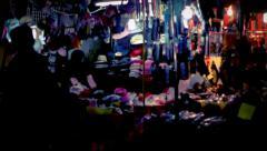 Hong Kong Market V Stock Footage