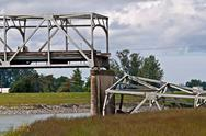 Stock Photo of SKAGIT COUNTY, WA – MAY 23 – Skagit County I5 Bridge Collapse