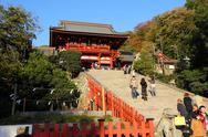 Stock Photo of Tsurugaoka Hachimangu shrine