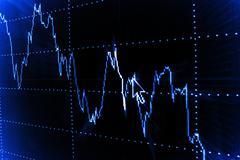 Graph analyzing Stock Photos