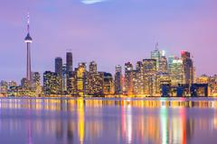 Toronto skyline Kuvituskuvat