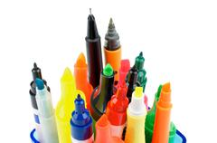 Felt Tip Pens Stock Photos