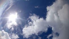 Clouds From Below Timelapse C2 Stock Footage