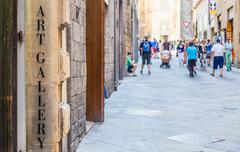 Turism in italy Stock Photos