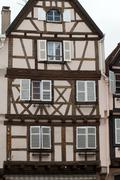 Half timbered houses of colmar, alsace, france Stock Photos