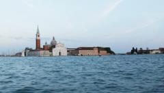 0352 Venice, San Giorgio Island Stock Footage
