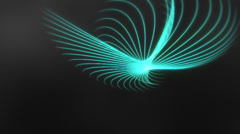 Spirograph Background Loop Stock Footage