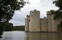 Bodiam castle Stock Photos
