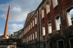 Houses Doors Windows in Decay - stock photo