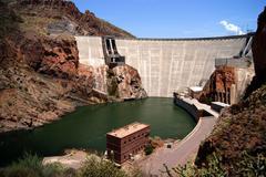 The mighty dams Stock Photos
