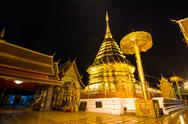 Stock Photo of wat phra that doi suthep famous temple of chiang mai, thailand
