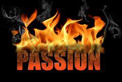Passion Concept Stock Illustration